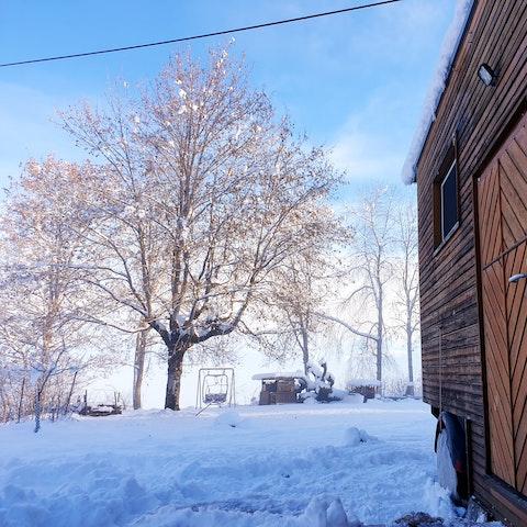ökologisches Tiny House im Gantrisch