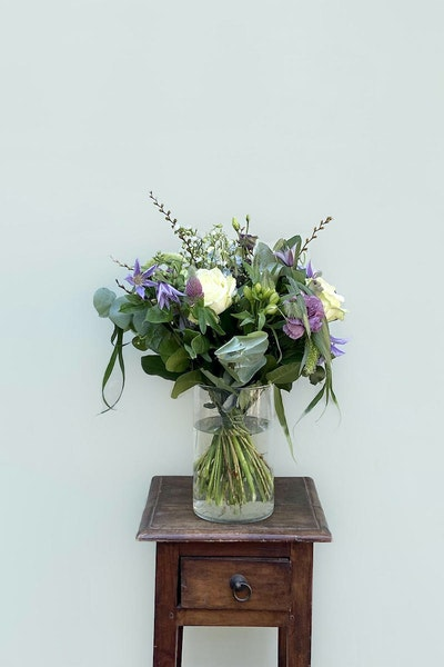 Floristens rustikke buket