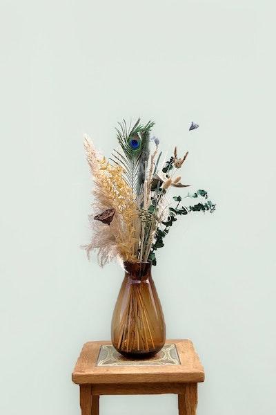 Floristens høje evighedsbuket u/ vase