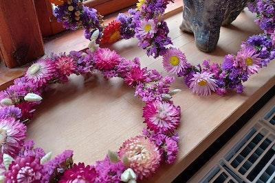 Tørret Blomsterkrans